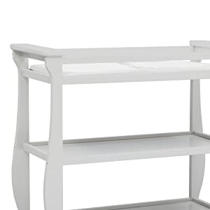 Delta Children Lancaster Changing Table is the safest choice for baby