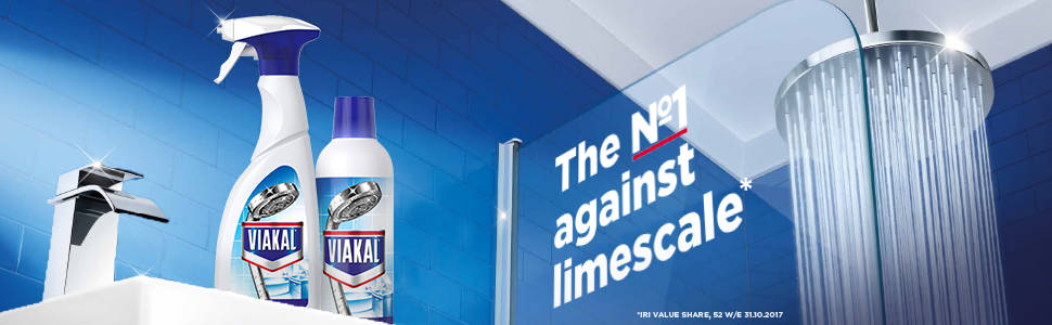 Viakal removes and prevents limescale