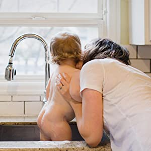 Earth Mama Natural Non-Scents Baby Wash Gentle Castile Soap For Sensitive Skin