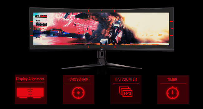Asus xg48vq ultra wide monitor