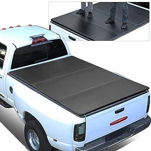 Dna Motoring Ttc Ru 051 Truck Bed Top Roll Up Vinyl Soft Tonneau Cover