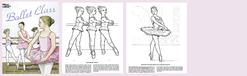 Ballet Colouring Book Vintage Coloring Nutcracker Download ...