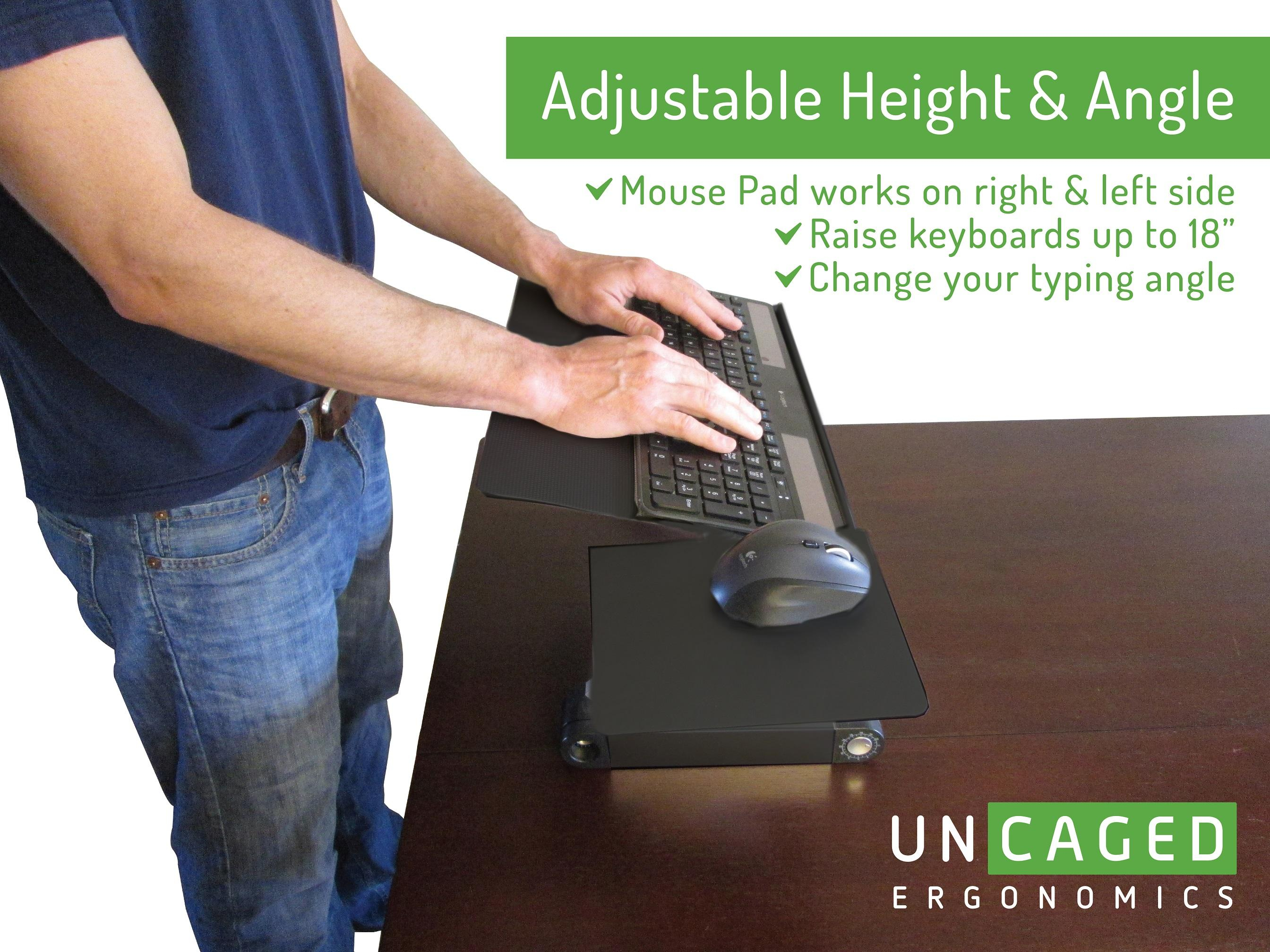 Lift Standing Desk Conversion Kit Tall Affordable