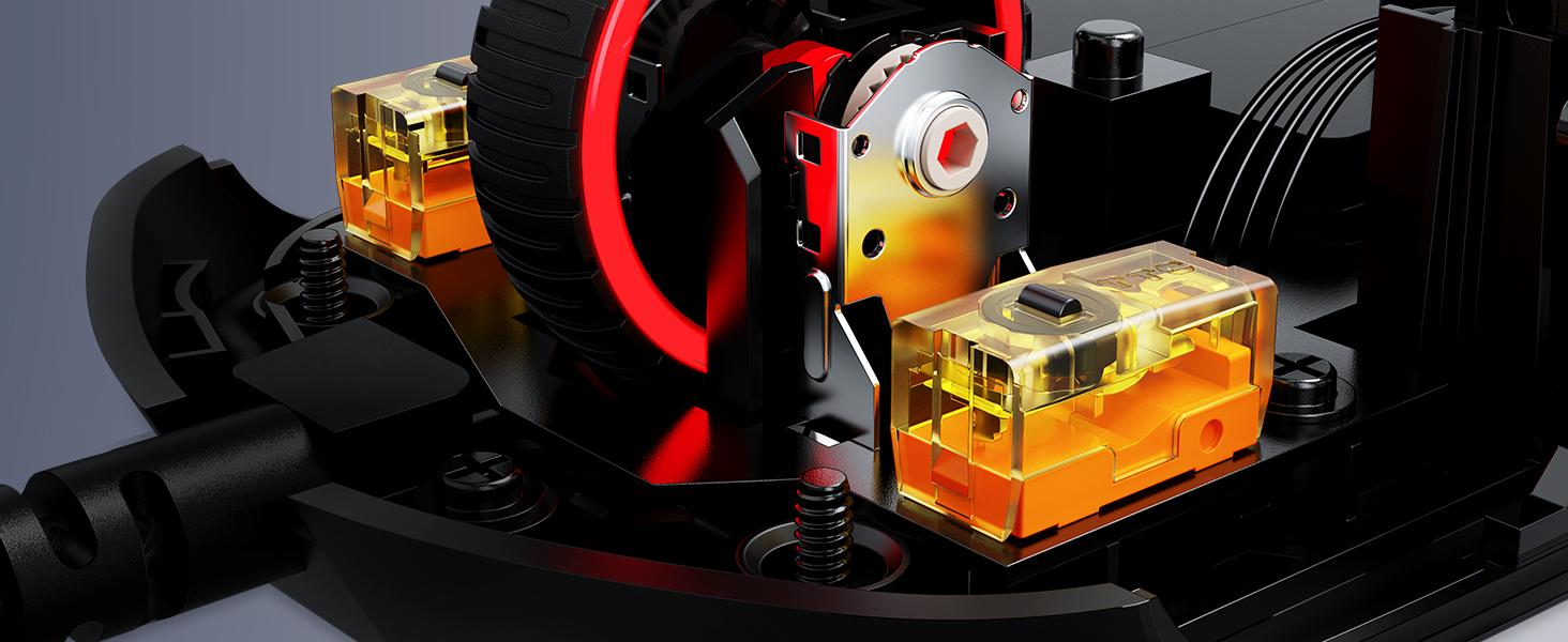 TTC Golden micro dustproof switches