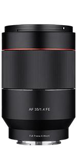 AF 35mm F1.4 FE