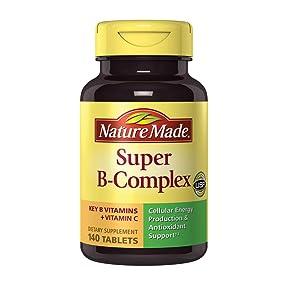 Nature Made Super B-Complex with Folic Acid, Biotin, and Vitamin C