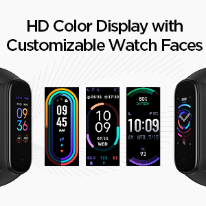 Multiple Watch Faces Activity Tracker