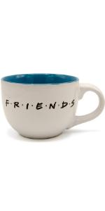 joey;monica;rachel;ross;chandler;large coffee mug