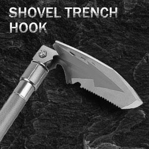 shovel trench hook