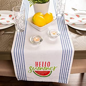 summer table runner,décor kitchen table,home table runner,summer décor party,sumner dining