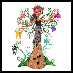 Monster High - Ninfas, Treesa Thornwillow (Mattel FCV59)