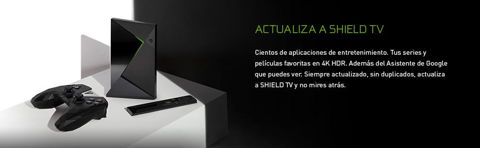 Nvidia Shield TV - Android TV gaming (resolución 4K HDR, memoria ...