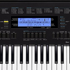 b8f315b953f Amazon.com: Casio WK-245 76-Key Touch Sensitive Keyboard with Power ...