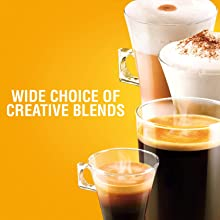 NESCAFE DOLCE GUSTO COFFEE, COFFEE MACHINE, CAPSULES, ESPRESSO, POD, wide choice of creative blends