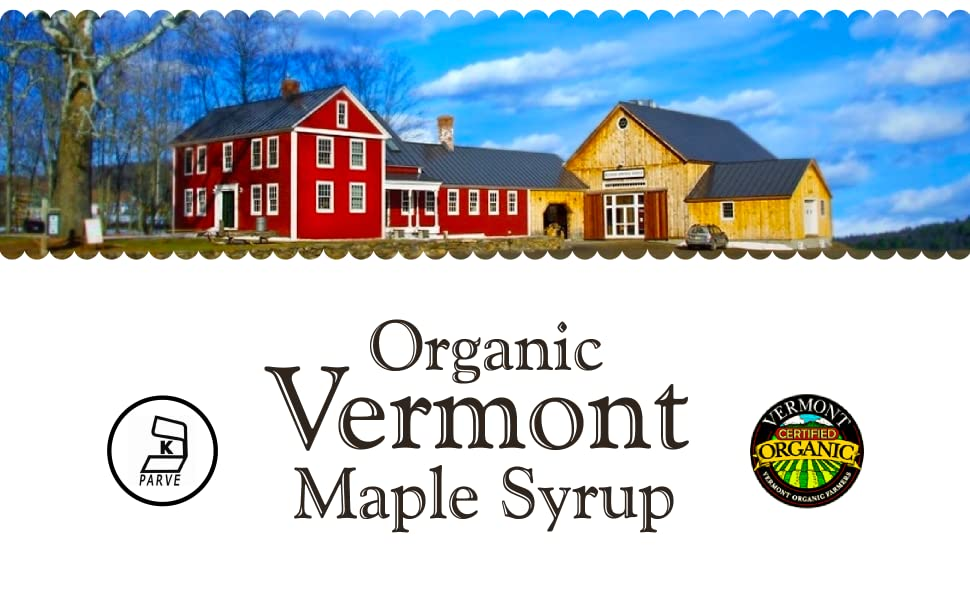 Hidden Springs Maple Organic Vermont Syrup