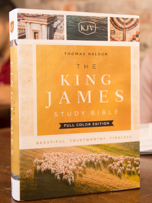 King James Study Bible KJV Full Color Edition