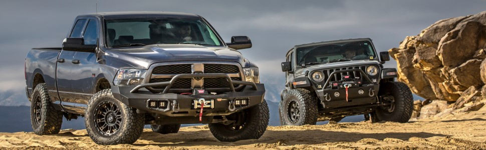 warn vr evo jeep and truck best in class winch pull pickup