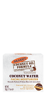 Coconut water facial moisturizer