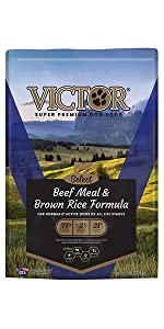VICTOR Beef Meal & Brown Rice 40-lb
