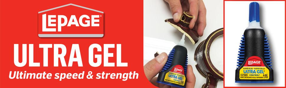 LePage Ultra Gel Control Super Glue