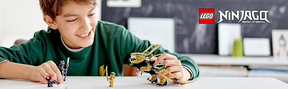 oro-dragón-overlord-ejército-piedra-explorador-arco-espada-enemigo-lanzador-poder-lego