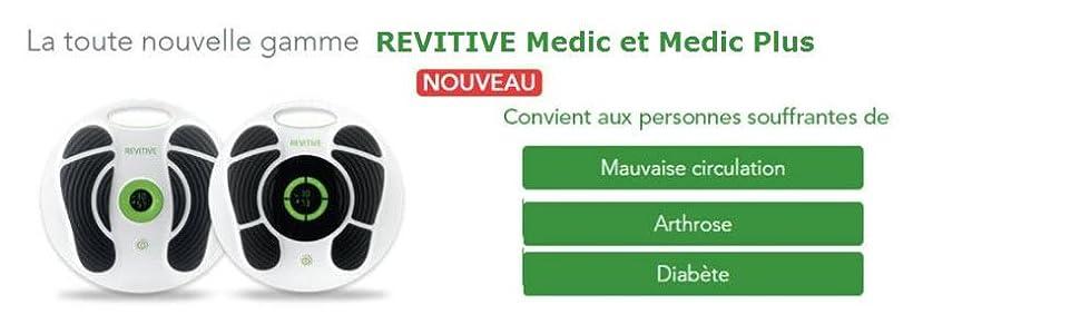 La nouvelle gamme Revitive Medic et Medic Plus