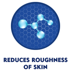 REDUCES ROUGHNESS OF SKIN