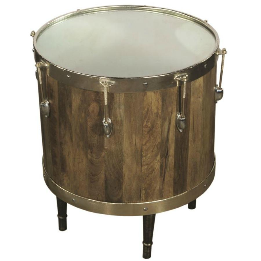 - Amazon.com: Pulaski Bass Drum Accent Side Table: Kitchen & Dining