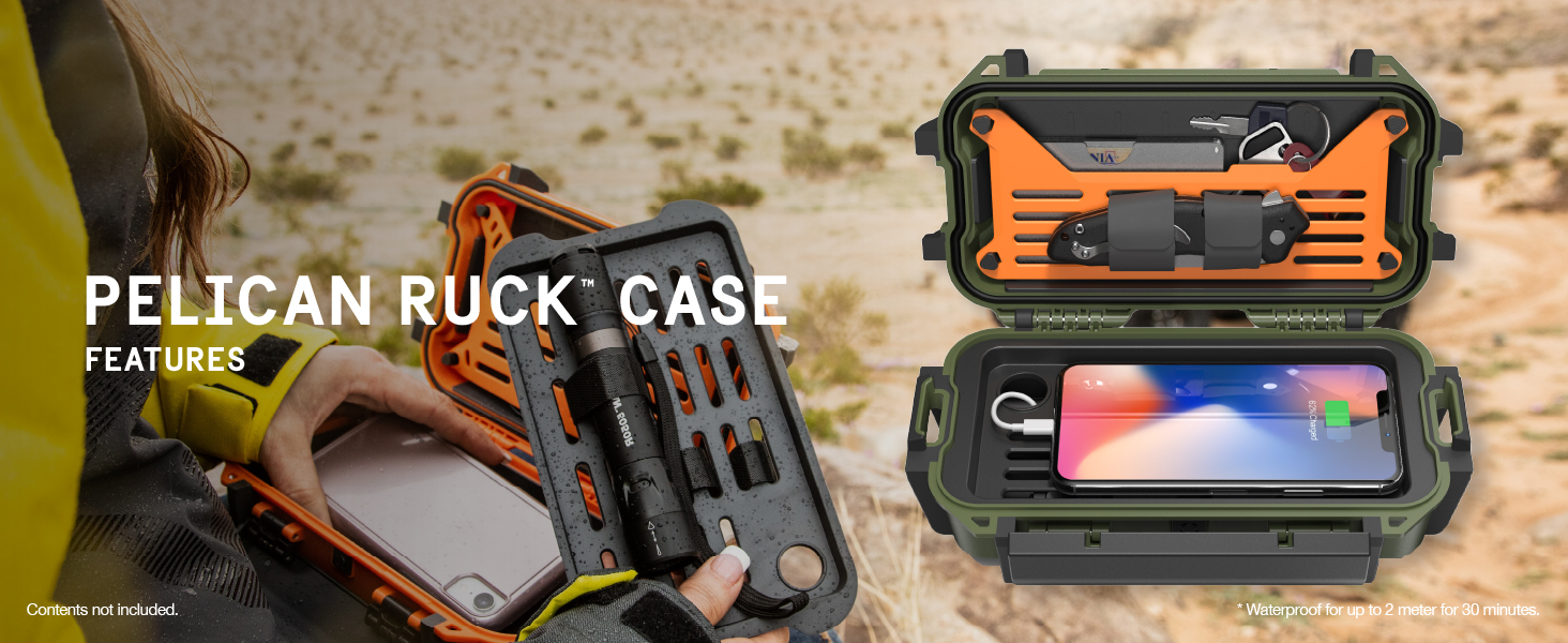 Ruck Case Features