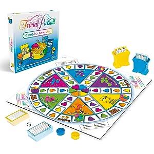 Hasbro Gaming- Trivial Pursuit (E1921190): Amazon.es: Juguetes y juegos