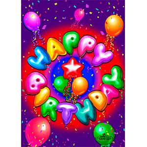 happy birthday;birthday;confetti;balloon;balloons;party;celebrate;kid;child;adult;celebration