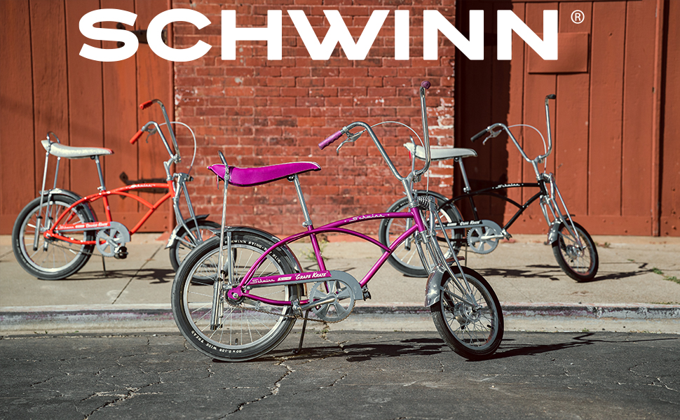 Orange Schwinn Classic Krate Bike One-Size 20-Inch Wheels