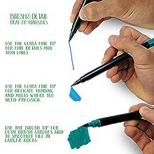 Crayola, Signature, Pens, Pencils, Markers, Design, Art, Graphics, Create, Illustrate, Colour