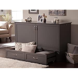 Amazon Com Atlantic Furniture Nantucket Murphy Bed Chest
