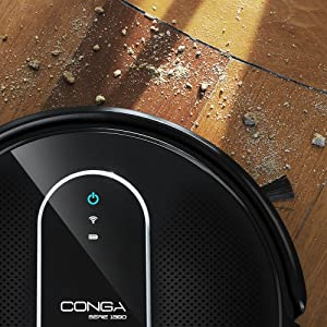 Cecotec Conga Serie 1390, Robot aspirador con mapeo y app ...
