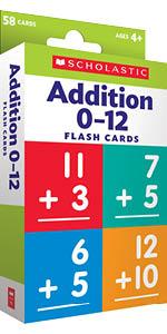 Flash Cards: Addition 0-12