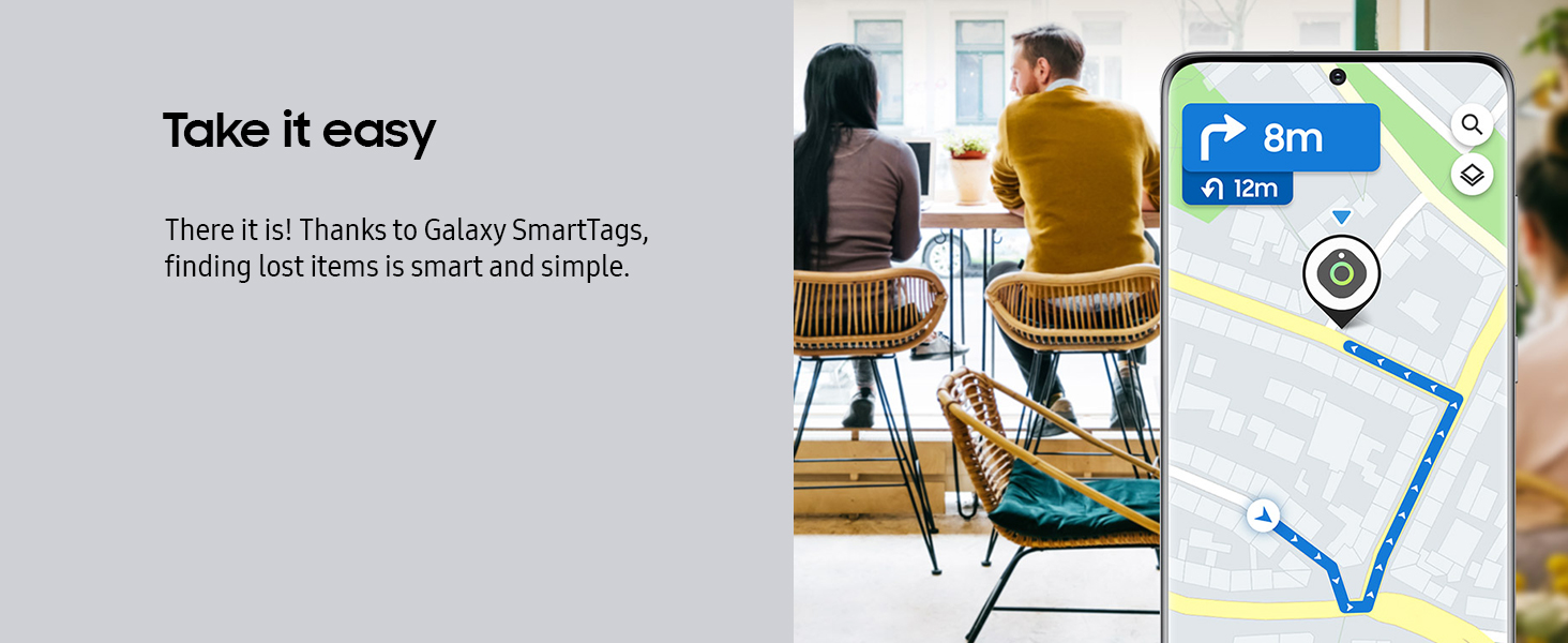 There it is! Thanks to Galaxy SmartTags, finding lost items is smart and simple.