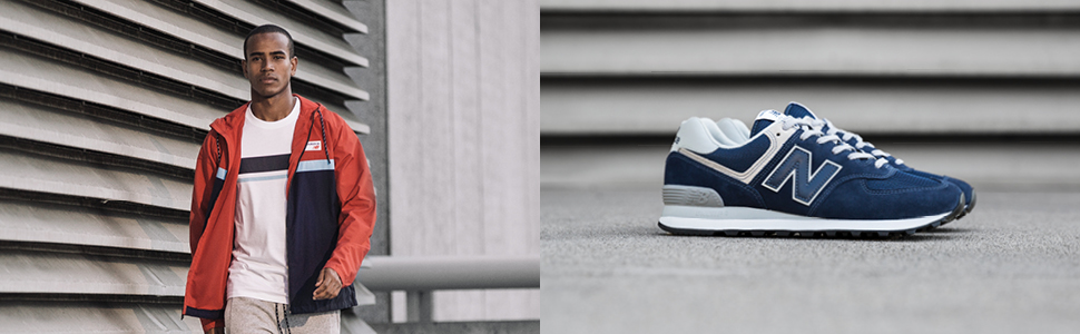 New Balance Herren ML574EGN Sneaker, Grün (Olive), 49 EU