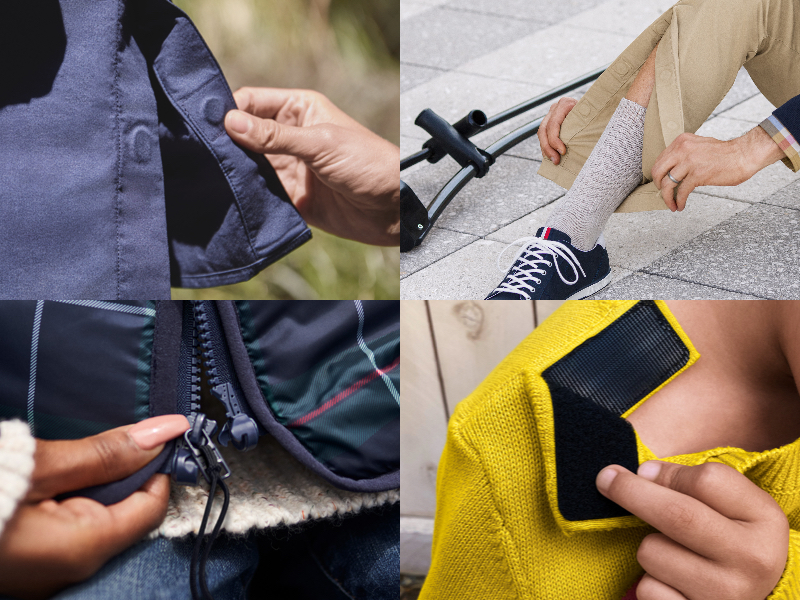 For 1 in 5 Americans with a disability, dressing can be a challenge. Our designers created solutions