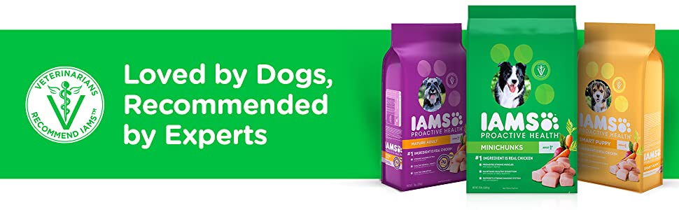Loved by Dogs, Trusted by Experts, Dry, Dog, Food, Nutrition, Dog Kibble, Veterinarian Recommended