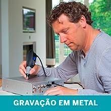 Dremel, Gravação, Metal