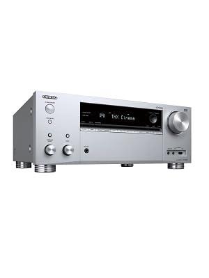 Receptor AV de 9. 2 Canales Onkyo TX-RZ740(S) (185 vatios/Canal, multizona, Dolby/DTS: X, WiFi, Bluetooth, Streaming, AirPlay2, Music App, Spotify, ...