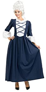 Women's Colonial Lady Costume Dress