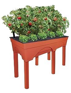 vegetable planter box planters garden soil how deck raised wooden best deck outdoor stealth weed