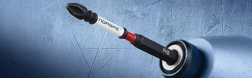 Norske Tools NIBPI703 42-Piece Impact Torsion Bit Set