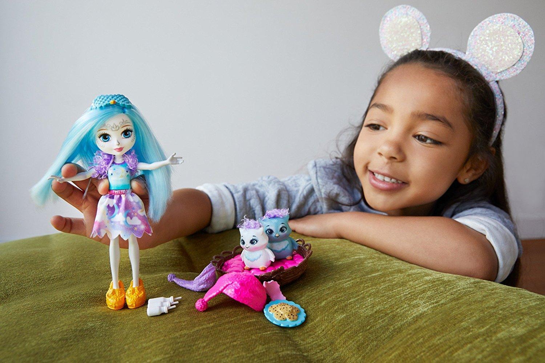 enchantimals sleepover night owl dolls amazon ca toys storybook dolls for sale storybook dolls ebay