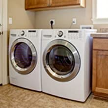 laundry room mold treatment front loading washer, upside down