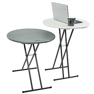 Iceberg Round Multi-purpose Tables