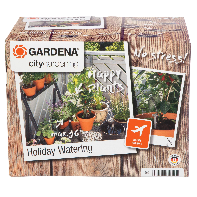 gardena 1265 20 city gardening urlaubsbew sserung bew sserung wird t glich f r 1 minute ber. Black Bedroom Furniture Sets. Home Design Ideas