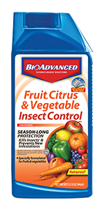 Fruit, Citrus & Vegetable Insect Control